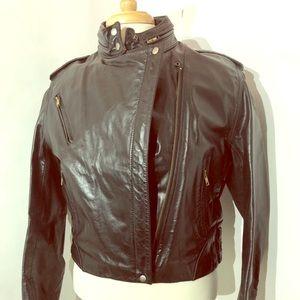 Wilson's Leather VTG Motorcycle Jacket Sz. 16